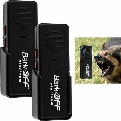 2Pk Bark Off As Seen On TV Ultrasonic Dog Train Aid Pet K9 Portable Stop Barking