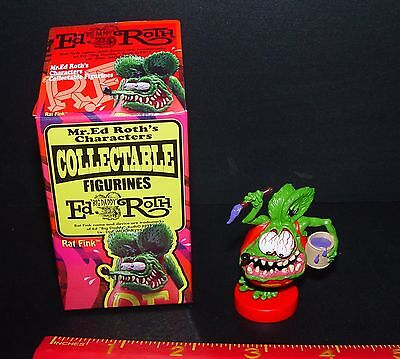 OFFICIAL ED ROTH RAT FINK PAINTER RAT FINK NEW IN OPENED BOX RARE ITEM