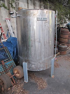 Riggs & Lombard 325 Gallon Stainless Steel Mixing Tank Commercial Grade