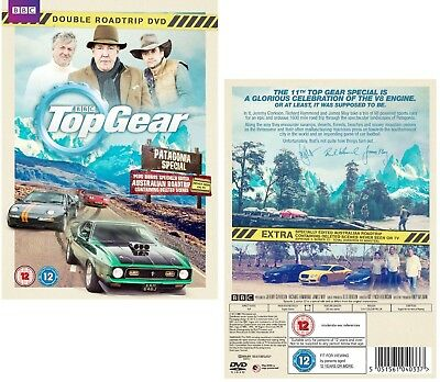 TOP GEAR UK 2014 2015 PATAGONIA Argentina / Chile + AUSTRALIA  - R2/4 DVD not US