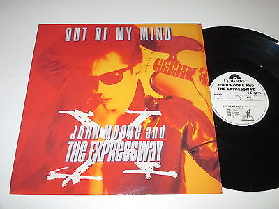MaxiSingle/JOHN MOORE AND THE EXPRESSWAY/OUT OF MY MIND/Polydor XWYZ 1