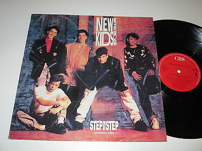 MaxiSingle/NEW KIDS ON THE BLOCK/STEP BY STEP/CBS 6559058