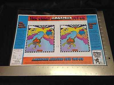 Peter Max Bookcover American Cancer Society Anti-Smoking Beatlesque Pop Art