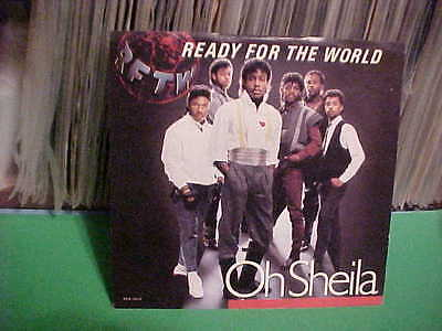 "MCA RECORDS 1985 7"" PICTURE SLEEVE ONLY READY FOR THE WORLD OH SHEILA"