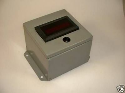 Kep MCHA3 6-Digit Electronic Counter with Hammond EJ664 Enclosure ! WOW !