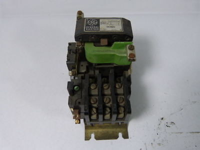 General Electric CR206D002 Starter Size 2 45Amp 3Ph 110/120V Coil ! WOW !