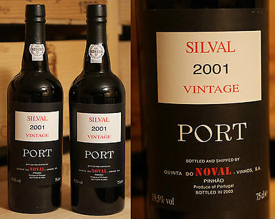 2001er Quinta do Noval - Silval Vintage Port *****