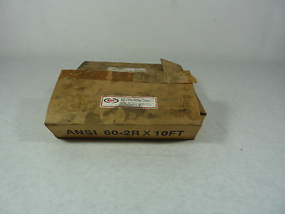 EBC ANSI 60-2RX10FT Roller Chain ! NEW !
