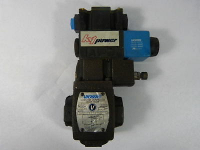 Vickers CS5060ABMFWB5100 Solenoid Controlled Relief Valve ! NEW !