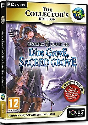 Mystery Case Files (11): Dire Grove, Sacred Grove Collector's Edition PC-DVD NEW