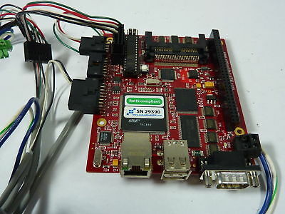 Embedded Arm 29390 Circuit Board Control System ! NEW !