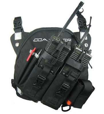 DR-1 Commander,Dual Radio,Chest Harness