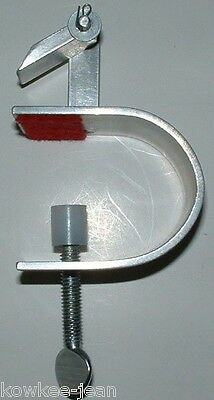 Verna Cox table clamp for braiding rugs, rugmaking tool ... see pics