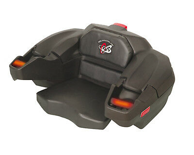 Atv Trunk Box Storage Rear Seat 2-Up Passenger Heated Hand Grips Hand Guards