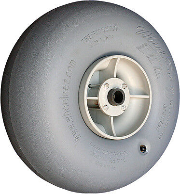 """Wheeleez 42cm (16.5"""") Grey Wheel - soft pneumatic tire for sand or soft surface"""