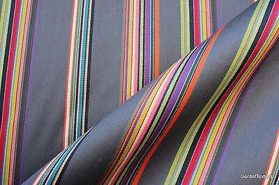 PAUL SMITH SYNCOPATED STRIPE 3.0YDS MODERN UPHOLSTERY FABRIC
