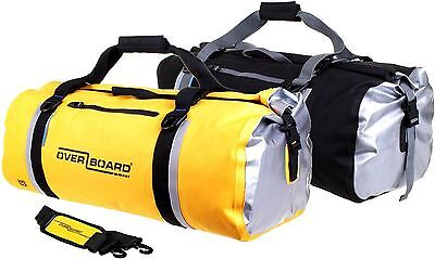 NEW Overboard Classic 60 L Waterproof Duffel Travel Bag - Dive Beach Surf Gear