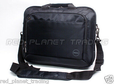 "New Dell T43DV 14"" Inch Black Nylon Business Work Laptop Notebook Carry-Case Bag"
