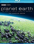 Planet Earth - The Complete Collection (Blu-ray Disc, 2007, 4-Disc Set) *USED
