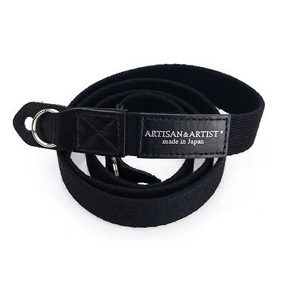 Artisan & Artist Camera Strap for Leica & Premium Compacts. ACAM 102 BLACK