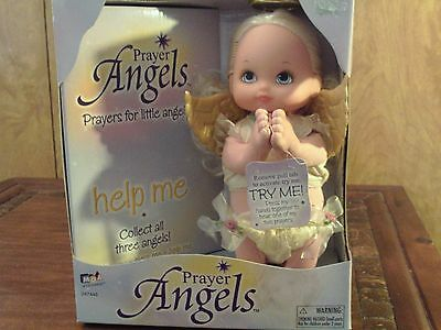 "Prayer Angel Talking Doll ""help Me"""