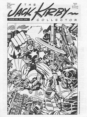 JACK KIRBY COLLECTOR #3 VF, 3rd Print, The Fanzine Magazine,TwoMorrows 1995