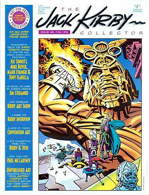 JACK KIRBY COLLECTOR #8 VF, The Fanzine Magazine,TwoMorrows 1996