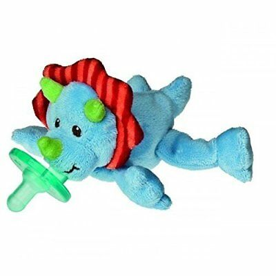 Mary Meyer WubbaNub Infant Newborn Baby Soothie Pacifier ~ Okey Dokey Dino