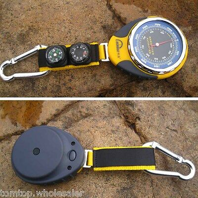 Portable 4 in 1 Altimeter Barometer Compass Thermometer for Outdoor Sport