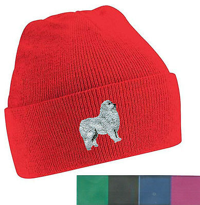 Pyrenean Mountain Dog Beanie Hat Perfect Gift  Embroidered by Dogmania