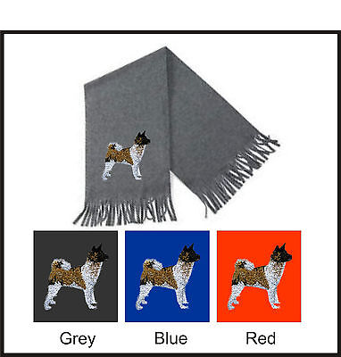 Akita Scarf Perfect Gift Embroidered by Dogmania