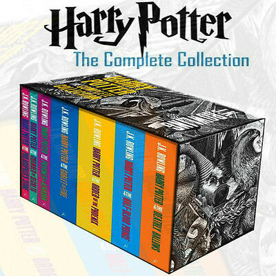 The Complete Harry Potter Boxed Gift Collection J. K. Rowling 7 Books Set New PB