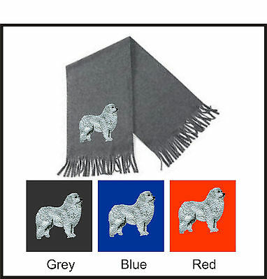 Pyrenean Mountain Dog Scarf Perfect Gift Embroidered by Dogmania