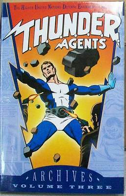 THUNDER AGENTS ARCHIVES VOLUME VOL 3 GN HC HARDCOVER (BRAND NEW)