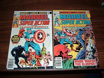 Marvel Super Action 1-20---complete high grade run of 20 comics--- #18 is vf/nm