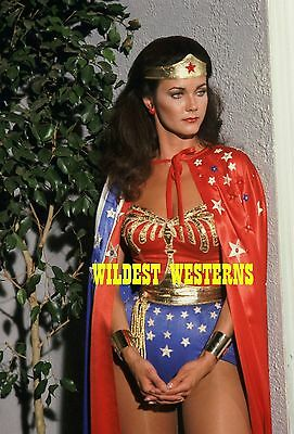 LYNDA CARTER Sexy Busty Photo CLEAVAGE Wonder Woman w/ Robe HOT LEGS Rare