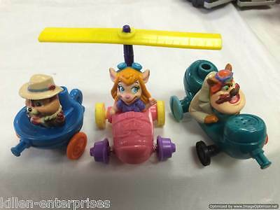 Chip n Dale Rescue Rangers Happy Meal Set Disney McDonalds 1989