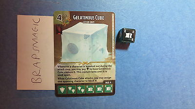 1x x1 Dungeons & Dragons Dice Masters: Gelatinous Cube, Lesser (common) Battle f