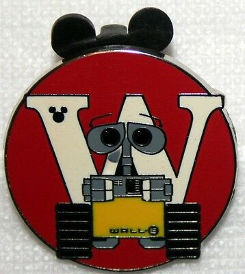 WDW - Hidden Mickey Series III - Alphabet - Wall-E (W)
