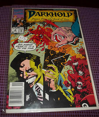 Marvel Darkhold Issue #2 Pages From The Book Of Sins----0304