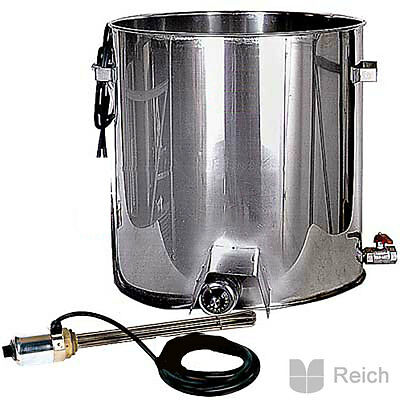 Brew kettle complete with automatic heat regulation 80 Litre 3 kW 230V