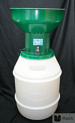 Electric Grain Mill 1,2 KW Mill with Container 50 litre plus 2 Knife Extra