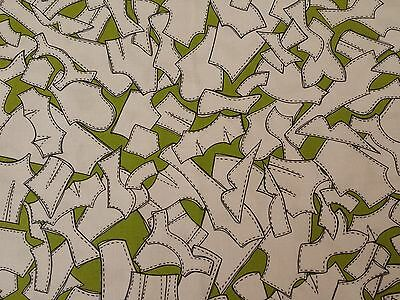 Sew Fabulous Loralie Harris Quilting Treasures BTY Pattern Pieces Green Sewing