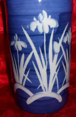 Asian Handpainted Decorative Ceramic Jar Vase Takahashi Of San Francisco Japan