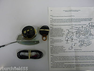 Ford Autolite 2 /& 4 Barrel Solid State Electronic Automatic Choke Conversion Kit