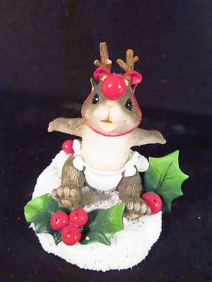 Charming Tails THE LITTLEST REINDEER 87/207 Baby Mouse