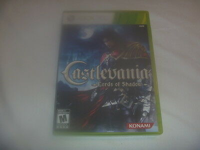 Castlevania Lords Of Shadow (2010) Microsoft XBox 360 Complete Classic Game