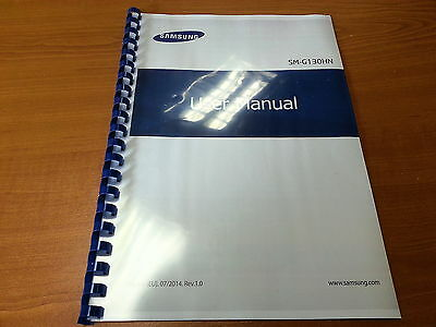 Samsung Galaxy Young G2 Sm-G130 Printed Instruction Manual User Guide 123 Pages