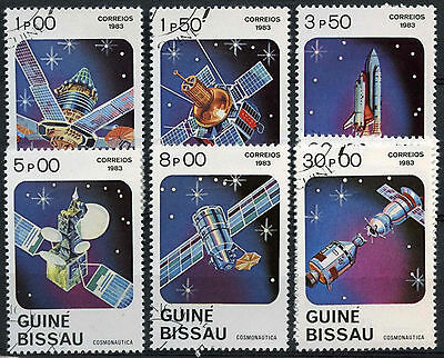 Guinea Bissau 1983 SG#743-9 Cosmonauts Day Cto Used Set #A82830
