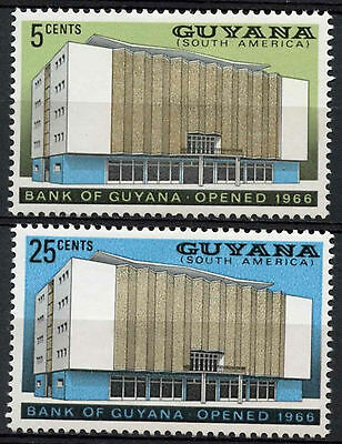 Guyana 1966 SG#412-3 Opening Of Bank MH Set #A82786